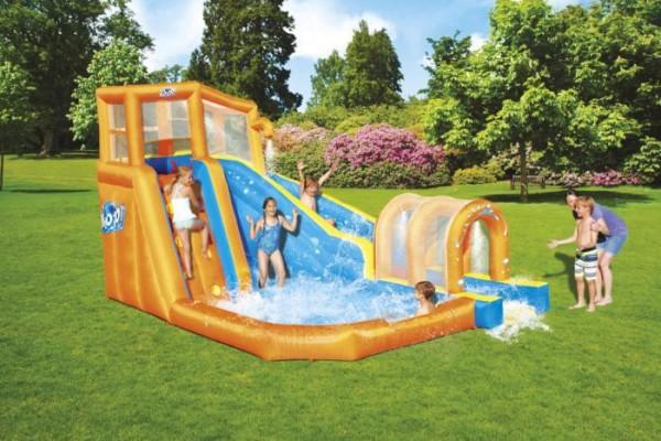 """H2OGO!™ Wasserpark mit Dauergebläse """"Hurricane"""" 5-10 Jahre 420 x 320 x 260 cm"""