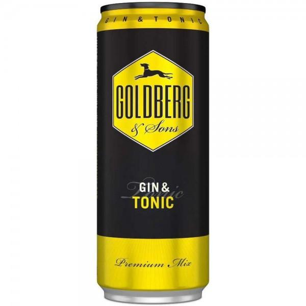 GOLDBERG Premix Gin Tonic Dose 0,33