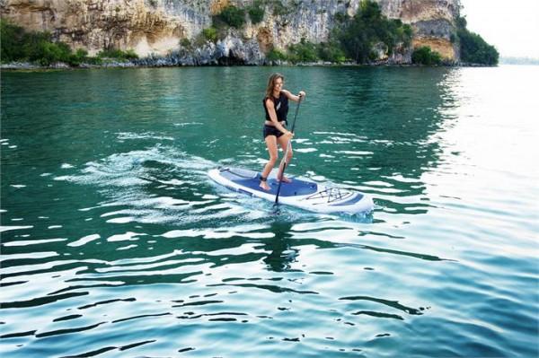 "Hydro-Force™ SUP Allround-Board-Set mit Sitzfunktion ""Oceana"" 305 x 84 x 15 cm"