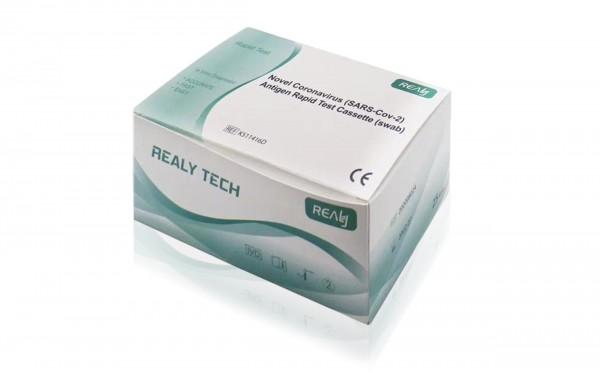 Realy Antigen Covid-19 Schnelltest (500 Stück) mit CE und Zertifikat von BfArM