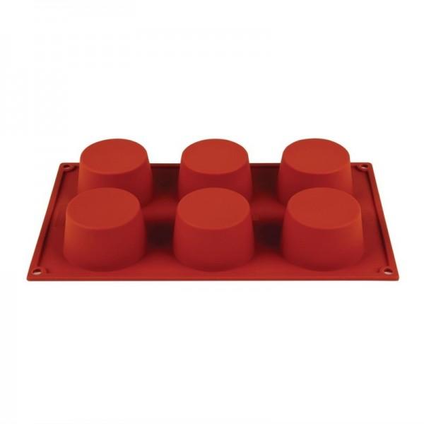 Pavoni 6 Muffin Backform silikon