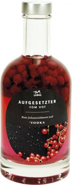 Aufgesetzter Rote Johannisbeere 0,35l Nocturne-Flasche
