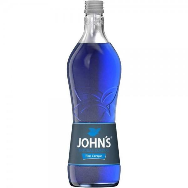 JOHN´S Blue Curaçao Sirup 0,7l