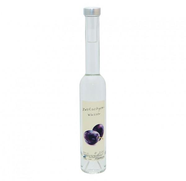 Zwetschgen Wasser 0,20l Platina-Flasche