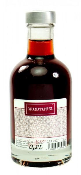 Granatapfel-Likör 0,20l Nocturne-Flasche