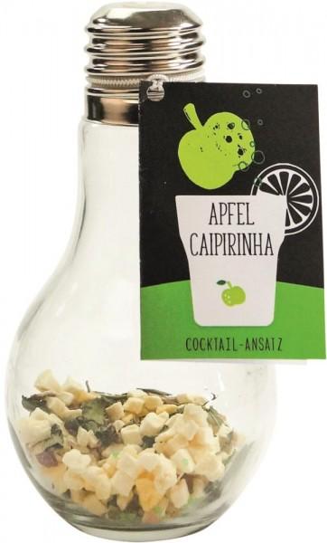 Cocktail-Ansatz Apfel-Caipirinha 0,39l Glühbirne
