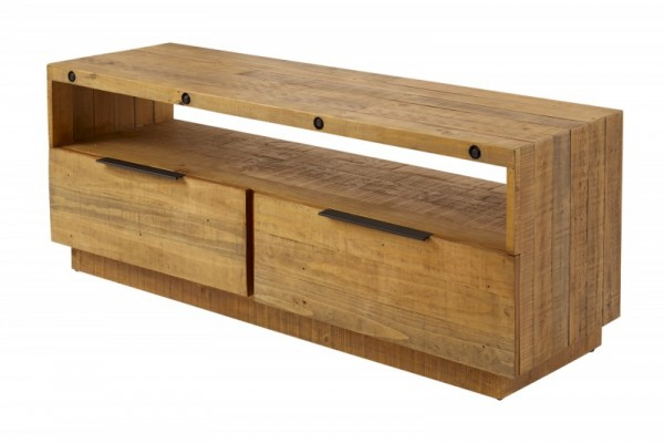 TV-Lowboard Finca 150cm Pinienholz natur 40456