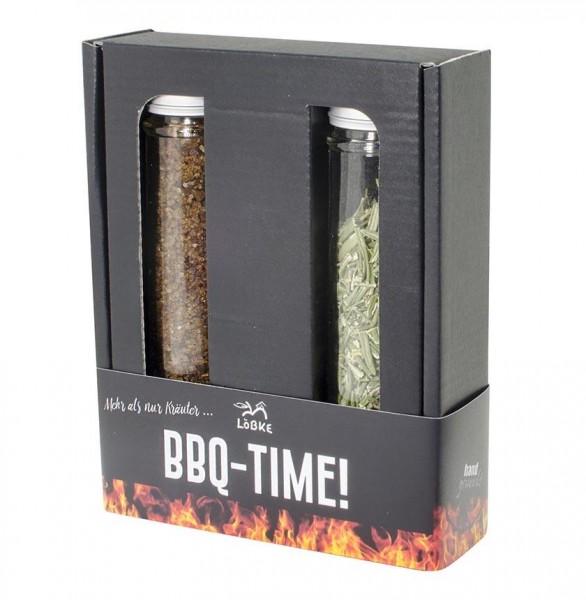 Gewürz-Box BBQ-Time! Rauchsalz + Rosmarin