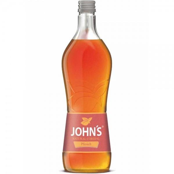 JOHN'S Pfirsich Sirup 0,7l