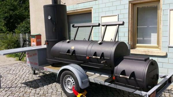 24 Zoll BBQ Smoker mieten