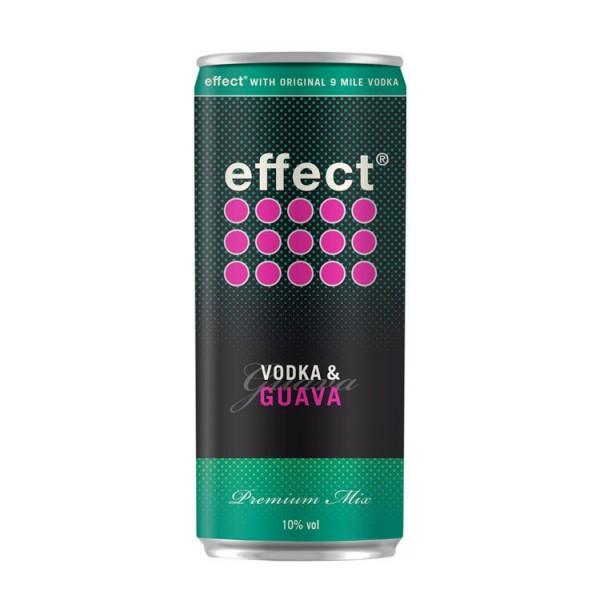 effect® Guava + 9 MILE Vodka Dose 0,33l