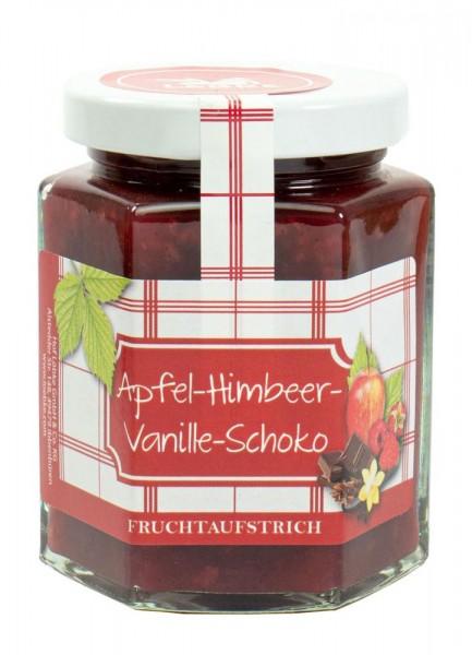 Apfel-Himbeer-Vanille-Schoko Fruchtaufstrich 200g