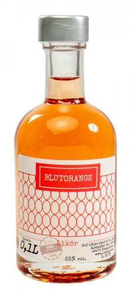 Blutorangen-Likör 0,10l Nocturne-Flasche