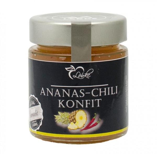 Ananas-Chili Konfit 150ml Hochrandglas
