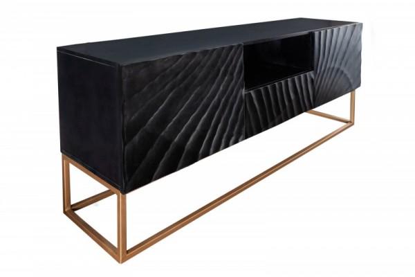 TV Lowboard Scorpion 160cm schwarz Mango 40253