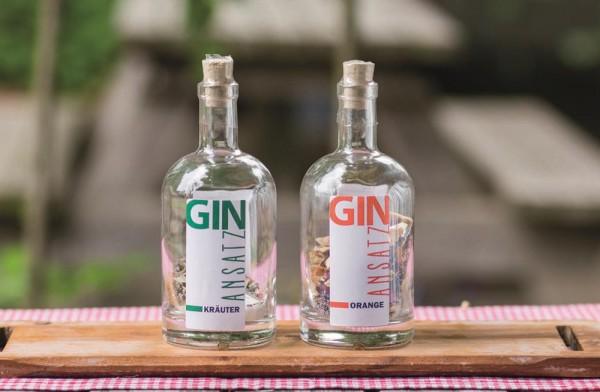 Gin Ansatz Kräuter 52g Nocturne-Flasche