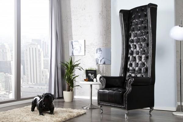 Sessel Heritage schwarz 21400