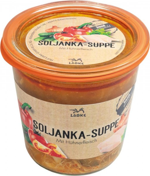 Soljanka-Suppe 580ml