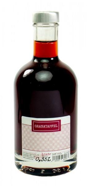 Granatapfel-Likör 0,35l Nocturne-Flasche