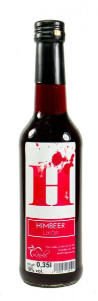 Himbeer-Likör 0,35l Gradhalsflasche
