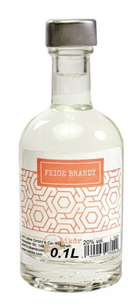 Feigen-Brandy-Likör 0,1l Nocturne-Flasche