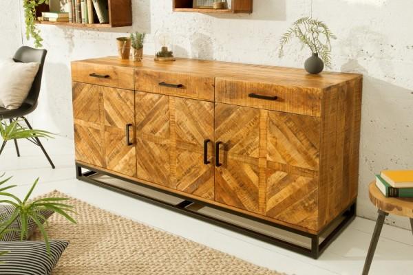 Sideboard Infinity Home 160cm natur Mango 39284