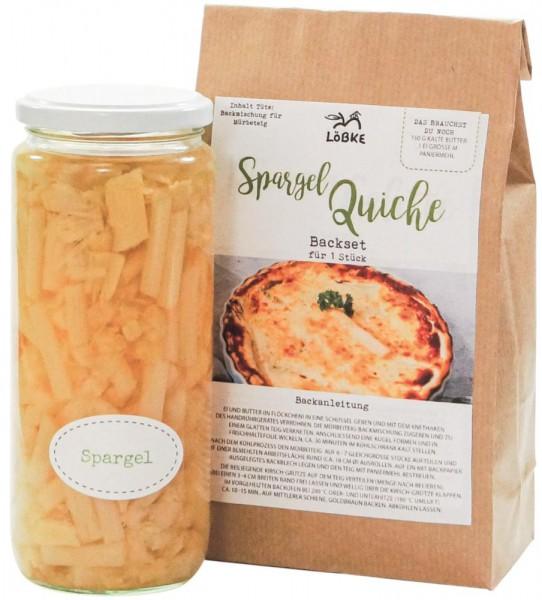 Spargel-Quiche-Kit in der Box