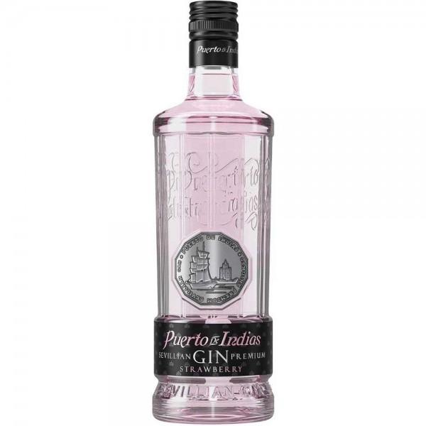 """Puerto de Indias """"Erdbeer"""" Gin 0,7l"""