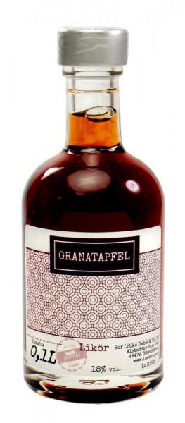 Granatapfel-Likör 0,10l Nocturne-Flasche