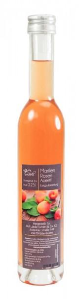 Marillen-Rosen Aperitif 0,25l Vittoria-Flasche