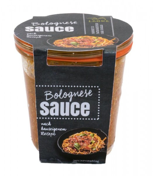 Bolognese-Sauce 290ml Weckglas
