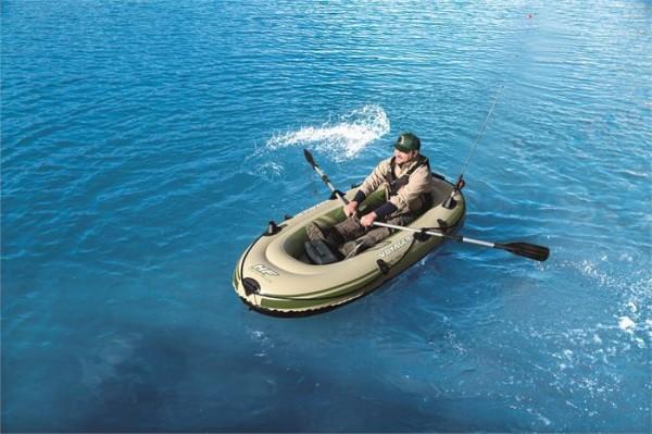 """Hydro-Force™ Schlauchboot-Set """"Voyager 300"""" für 2 Personen 243 x 102 x 31 cm"""