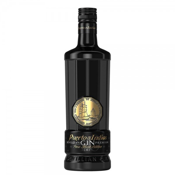 Puerto de Indias Dry Gin Pure Black Edition 0,7l