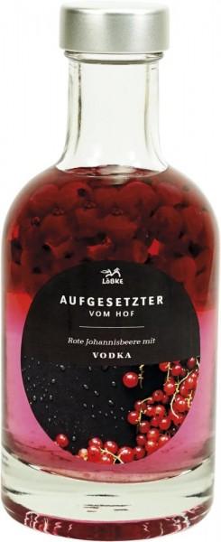 Aufgesetzter Rote Johannisbeere 0,20l Nocturne-Flasche