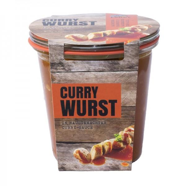 Currywurst 290ml Weckglas