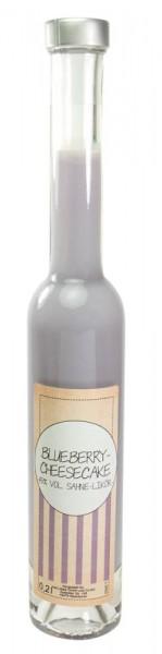 Blueberry-Cheesecake-Sahne-Likör 0,20l Platina-Flasche