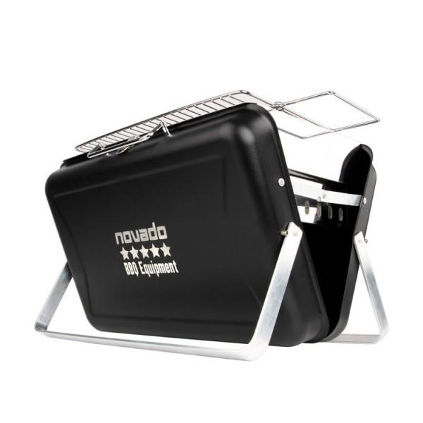 Tragbarer Premium-Holzkohle-Grill für Unterwegs