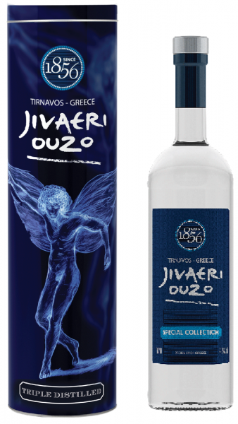"Ouzo ""Jivaeri"" Special Collection 700ml - 40% Vol - Nikolaos Katsaros"
