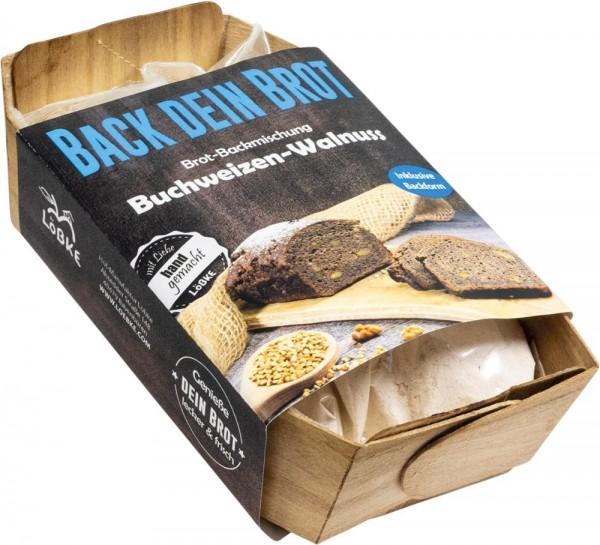 Backmischung Buchweizen-Walnuss Brot 350g