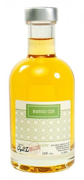 Mango-Gin-Likör 0,20l Nocturne-Flasche